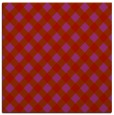 rug #670917 | square red check rug