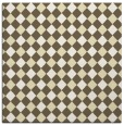 rug #670957 | square white check rug