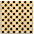 rug #670961 | square brown check rug