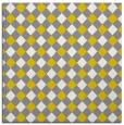 rug #670965 | square white check rug