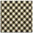 rug #670973 | square black check rug