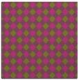 rug #670993 | square light-green check rug