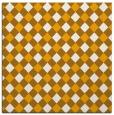 rug #671001 | square light-orange check rug