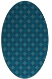 rug #671068   oval check rug