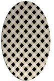 rug #671093   oval check rug