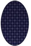 rug #671104   oval check rug