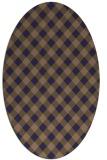 rug #671126   oval check rug