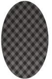 rug #671167   oval check rug