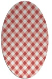 rug #671239   oval check rug
