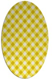 rug #671293 | oval white rug