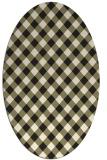 rug #671326   oval check rug