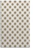 rug #671369 |  white check rug