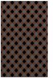 rug #671377 |  black check rug