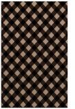 rug #671381 |  beige check rug