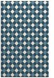rug #671393 |  white check rug
