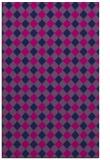 rug #671397 |  pink check rug
