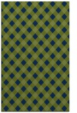 rug #671405 |  blue check rug