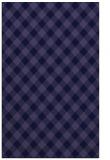 rug #671453 |  blue-violet check rug