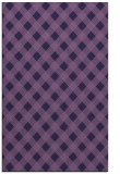 rug #671465 |  purple check rug