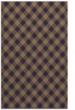 rug #671477 |  blue-violet check rug