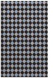 rug #671481 |  blue-violet check rug