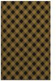 rug #671485 |  black check rug