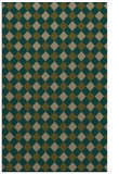 rug #671489 |  mid-brown check rug