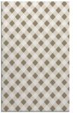 rug #671509 |  white check rug