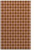 rug #671513 |  brown check rug