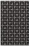 rug #671517 |  brown check rug