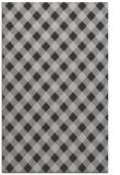 rug #671569 |  orange check rug