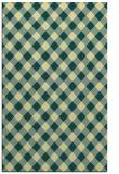 rug #671573 |  yellow check rug