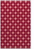 rug #671585 |  pink check rug