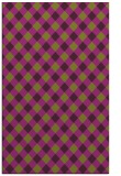 rug #671597 |  purple check rug