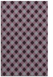 rug #671605 |  purple check rug