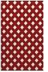 rug #671617 |  red check rug