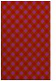 rug #671621 |  pink check rug