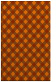 rug #671625    red-orange check rug