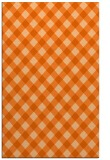 rug #671629 |  red-orange check rug