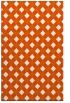 rug #671637 |  red-orange check rug