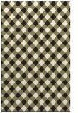 rug #671677 |  black check rug