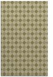 rug #671693 |  light-green check rug