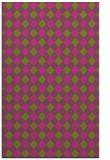 rug #671697 |  light-green check rug
