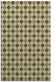 rug #671701 |  light-green check rug