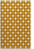 rug #671705 |  light-orange check rug