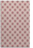 rug #671709 |  pink check rug