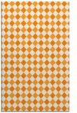 rug #671713 |  light-orange check rug