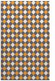 rug #671717 |  light-orange check rug