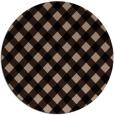 rug #671733 | round beige check rug