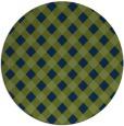 rug #671758 | round check rug
